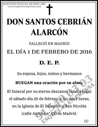 Santos Cebrián Alarcón
